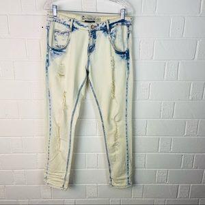 Zara Tralaluo Boyfriend designed jeans